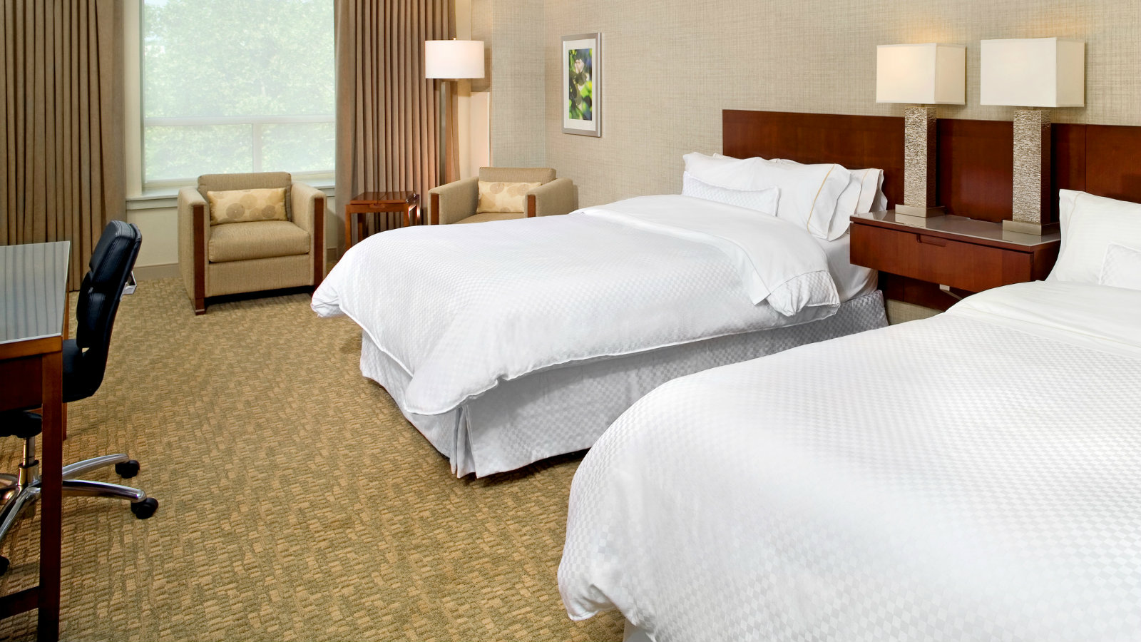 PURE® Allergy-Friendly Guest Room